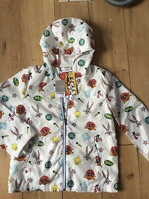 Boys/girls Next Shower Resistant Coat Size 10 Years Brand New With Tags