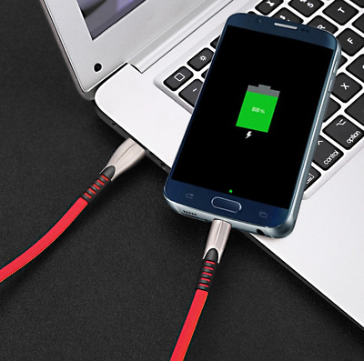 New Premium Braided Fast Charging Cable 1M Micro /USB C Durable & Car Charger AU
