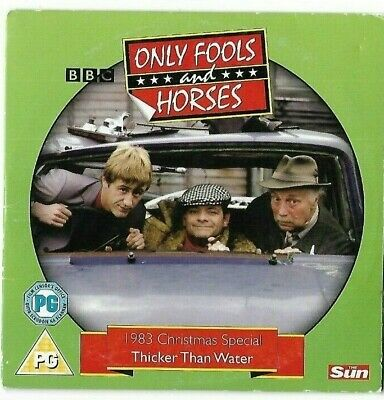 BBC Only Fools And Horses - 1983 Christmas Special Thicker Than Water Promo DVD
