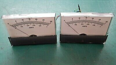 Analog Panel Meter , Voltage and Amps