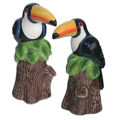 French Country Collectable Novelty TOUCAN Salt and Pepper Set New