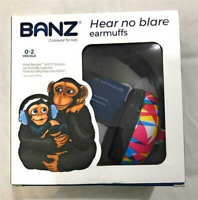 Baby Banz Children's Earmuffs Infant Hearing Protection, For Ages 0-2 y/o, Prism