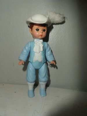 """McDonald/'s Madame Alexander Prince Charming 5/"""" Blue Doll Figure Toy Cake Topper"""