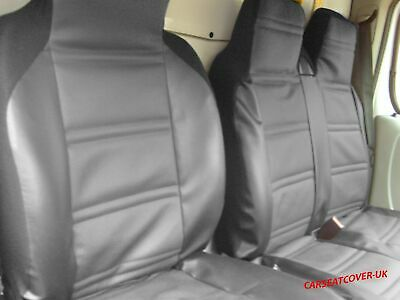 CITROEN BERLINGO Heavy Duty MAYFAIR LEATHER LOOK Van Seat Covers Single /& Double
