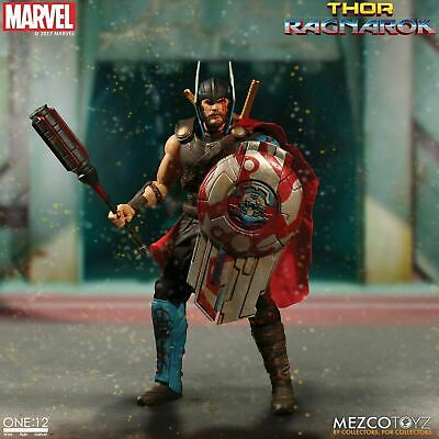 "Mezco One:12 Collective Marvels Thor Ragnarok 6"" Scale Action Figure Model"