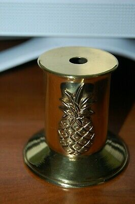 Large  Decorative Antique Style Brass Ink Well