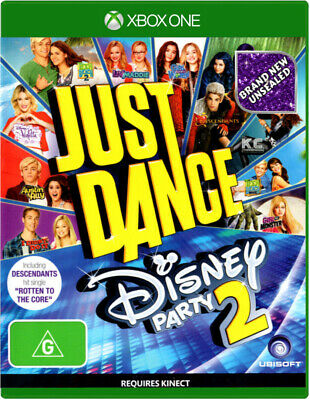 Xbox One Game ✨ JUST DANCE DISNEY PARTY 2 ✨ ***NEW*** Tracks Listed