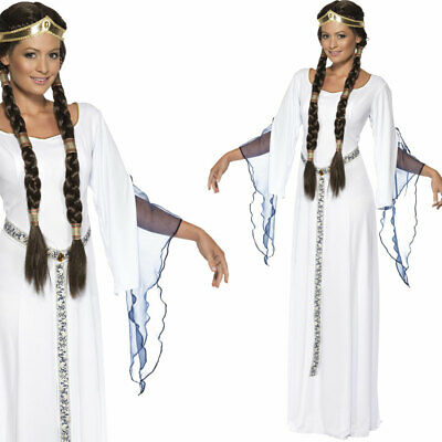 White Medieval Maiden Costume
