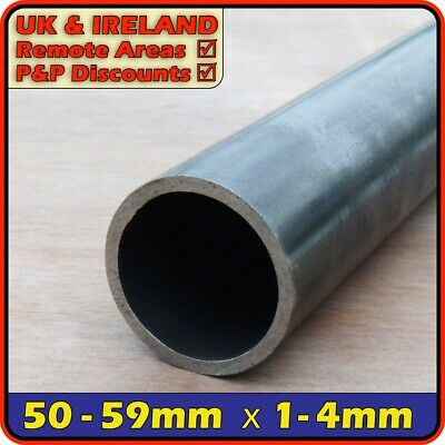 Mild Steel Round Tube ║ 50mm - 59mm outside diameter ║ pipe section,ERW,CHS,post