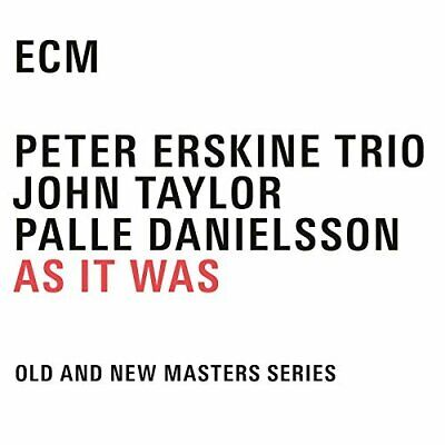 Erskine Peter/Trio-As It Was (US IMPORT) CD NEW