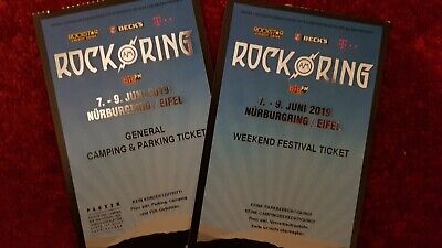 Rock am Ring Weekend Festival Ticket 2019 + General Camping und Parking Ticket
