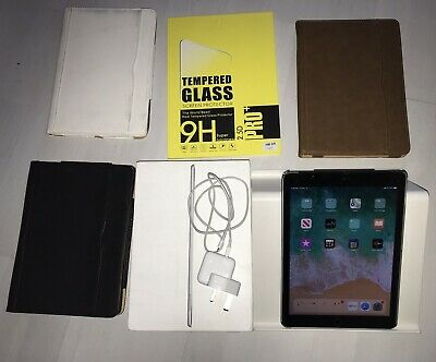 Apple iPad Air 2 32GB, Wi-Fi + Cellular (EE), 9.7in - Space Grey Bundle