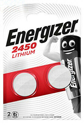 Energizer 2450 Lithium Coin Battery, 2-Pack, Pack of 2