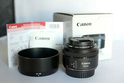 Canon EF 50mm f/1.8 STM With Hood
