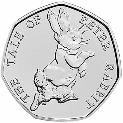 Various Beatrix Potter 50ps