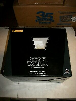 Gentle Giant Star Wars COMMANDER BLY Maquette AFX Exclusive #73/1500
