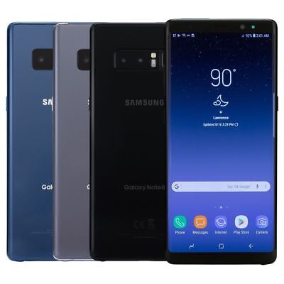 """Samsung galaxy Note 8 SM-N950 GSM Unlocked 64GB Android 4G LTE 6.3"""" FLAWLESS"""