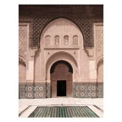 NEW A La Mode Studio Moroccan Pool Canvas Print