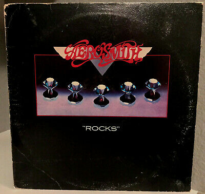 "AEROSMITH - Rocks - 12"" Vinyl Record LP - VG+"