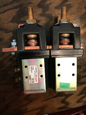 Curtis/Albright SW202-41 Electric Vehicle DC Contactor Motor Reversing 48 V NEW