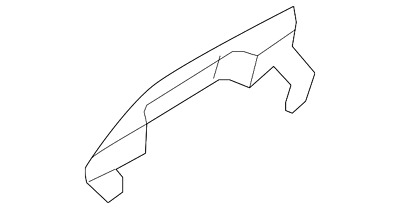 Genuine Ford Handle Outside 8S4Z-5422404-CA