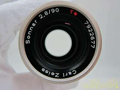 Contax Kyocera Sonnar Tg 2.8 90 G Mount Lens For