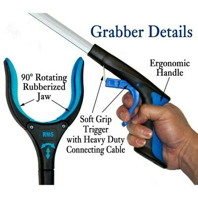 "1Pack 26"" RMS Handi Grip Reacher Grabber Reaching Aid Trash Easy Pick Up Tool AU"