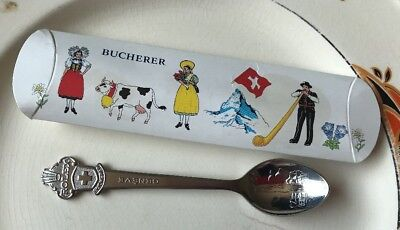 Rolex Souvenir Teaspoon - Bucherer - Geneve Switzerland Including Original Box