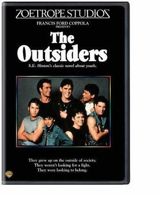 The Outsiders Dvd - Single Disc Edition - New Unopened - Patrick Swayze