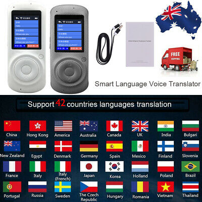 2.4Inch Smart Voice Translator Device Translation 42 Languages Rechargeable H4S3