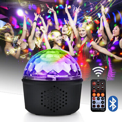Disco Ball Home Party Light Speaker DJ Stage Lighting With Wireless Bluetooth