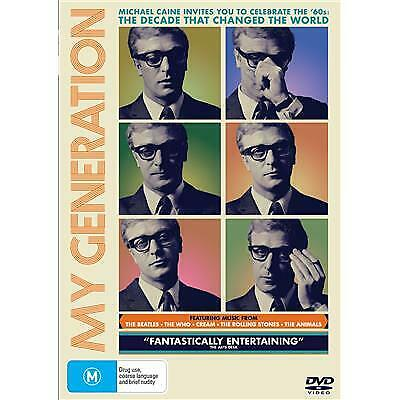 My Generation Dvd, New & Sealed, 2019 Release, Free Post