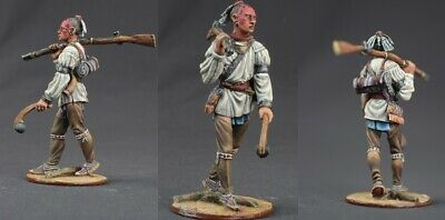 tin toy soldiers unpainted  54mm Indian