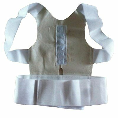 Men Women Orthopedic Magnetic Therapy Corset Back Posture Corrector Support Vv