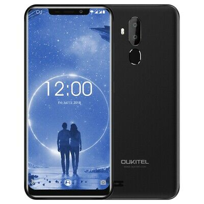 "6.18"" Oukitel C12 Cell Smartphone 2+16GB Dual Rear Camera Fingerprint"