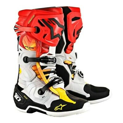 Alpinestars Boot MX  Motocross Enduro Tech 10 Limited Edition Indianapolis
