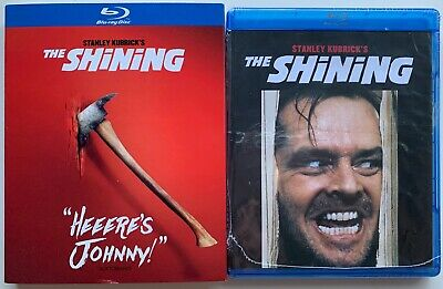 New The Shining Blu Ray + Target Exclusive Quote Slipcover Sleeve Heeers Johnny