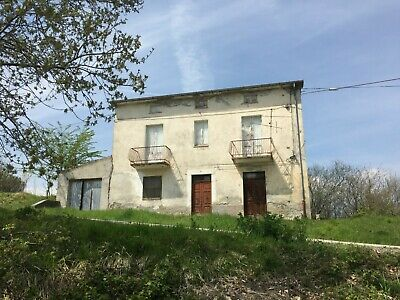 Detached House with 8000 sqm Land In Italy