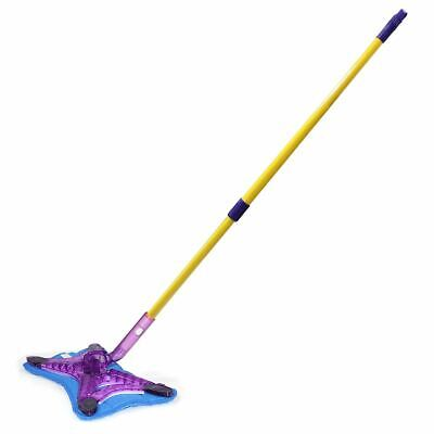JML X Power Mop Sweeper Pet Hair Moisture Dust Wet/Dry Cleaning Foam Sweeper Mop