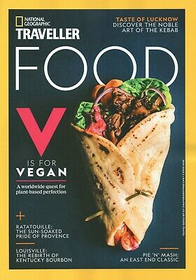 National Geographic Traveller food magazine - Issue 5  2019 (BN/SEALED)