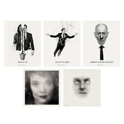 Mondo TWIN PEAKS Greg Ruth Giclee Set 1 Series David Lynch Art Sold Out Limited