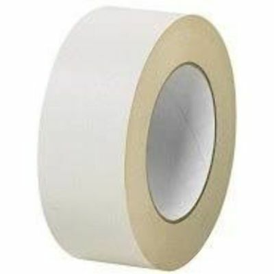 General Purpose White Masking Tape Easy Tear DIY / Painters 48mm X 50M Rolls