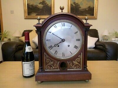 Fine quality Edwardian bracket clock