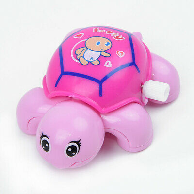 Plastic Turtles Tortoise Educational Toys Crawling Wind Up Toy For Baby Q Ww E