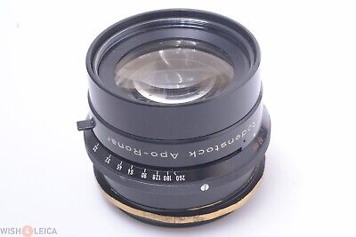 Rodenstock 480Mm, 9Inch F/9 Apo Ronar Large Format Lens Up To 8X10 Sinar