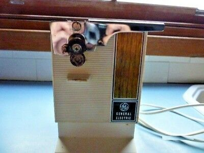 Vintage General Electric Auto Can Opener/Knife Sharpener