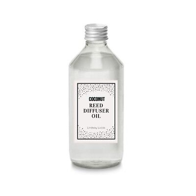 Coconut Scented OIL REFILL For Reed Diffuser ,Fragrance Oil Refill