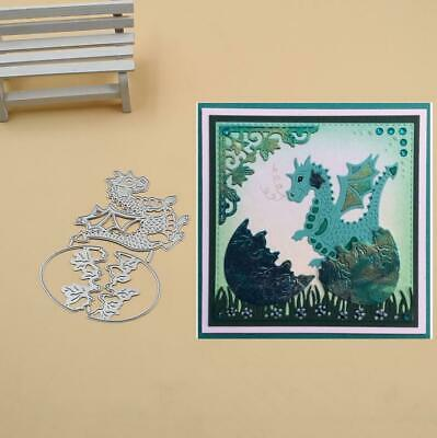 Dragon and egg Metal Cutting Dies Stencils Scrapbook Paper Card Decorative Die