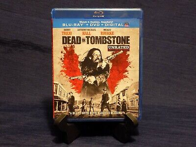 Dead in Tombstone (Blu-ray/DVD, 2013, 2-Disc Set, Unrated) Danny Trejo