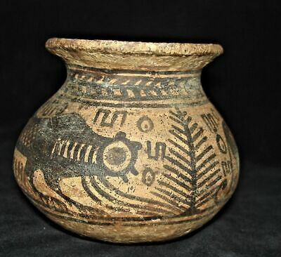 Ritual SHIVA Pakayajna Pot with Ancient Writing. Proto Indus Ravi Culture 3000bc